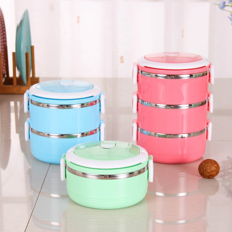 Stainless steel thermos bento lunch box for kids thermal for Bento lunch box isotherme