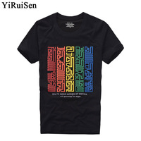 2017 New Men Short Sleeve T Shirt 100 Cotton O Neck Fashion Print T Shirt Men