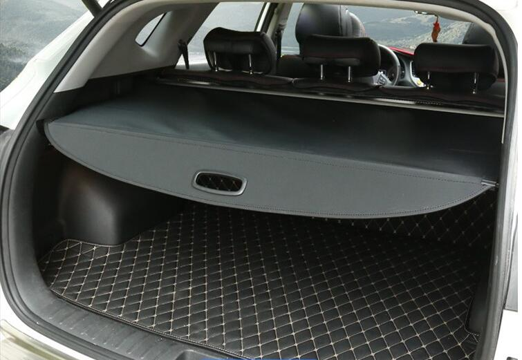 Black! Car Rear Cargo Cover Trunk Shield Security Cover Parcel Shelf For Ford Explorer 2011 2012 2013 2014 2015 2016 2017 2018
