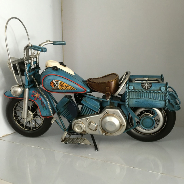 1f25ee565a4 Vespa model motorcycle 1969 vintage India HALLEY metal motorcycle toy RED  YELLOW BLUE safe HARLEY diecast vespa motor collection