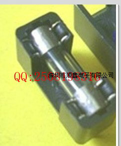 5 * 20MM Fuse Box Fuse Holder PCB Insurance Contracts Cross- Seat Double Deck Double Needle Seat