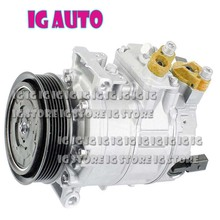Auto A/C AC Compressor For Volkswagen GTI 2.0L  For Audi TT 2.0 3.2 Seat 2008-2012 1K0 820 859N 1K0 820 859T 1K0820859N for hisense led40k170jd article lamp rsag7 820 5062 rsag7 820 5057 1piece 54led 500mm