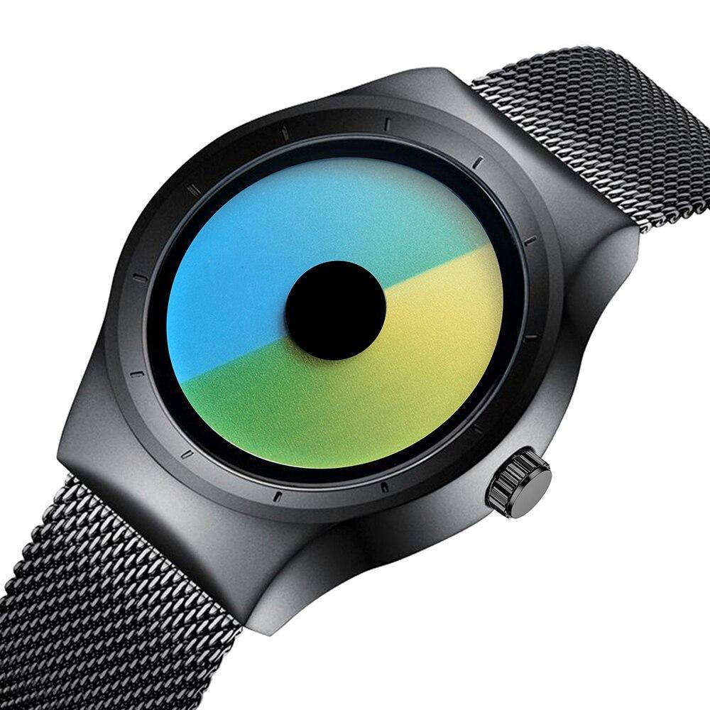Senors montres à Quartz montres hommes montre de mode 2018 hommes bracelet de montre poignet en acier inoxydable Sn158