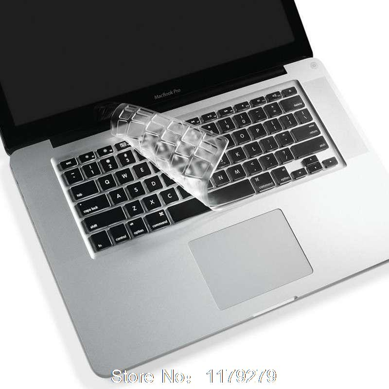 more photos 087c2 cf940 US $1.98 |Utra Thin Clear Silicone Keyboard Cover Skin for Macbook Pro  Retina 13