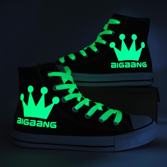 BIGBANG LIMINOUS HIGH TOP SHOES