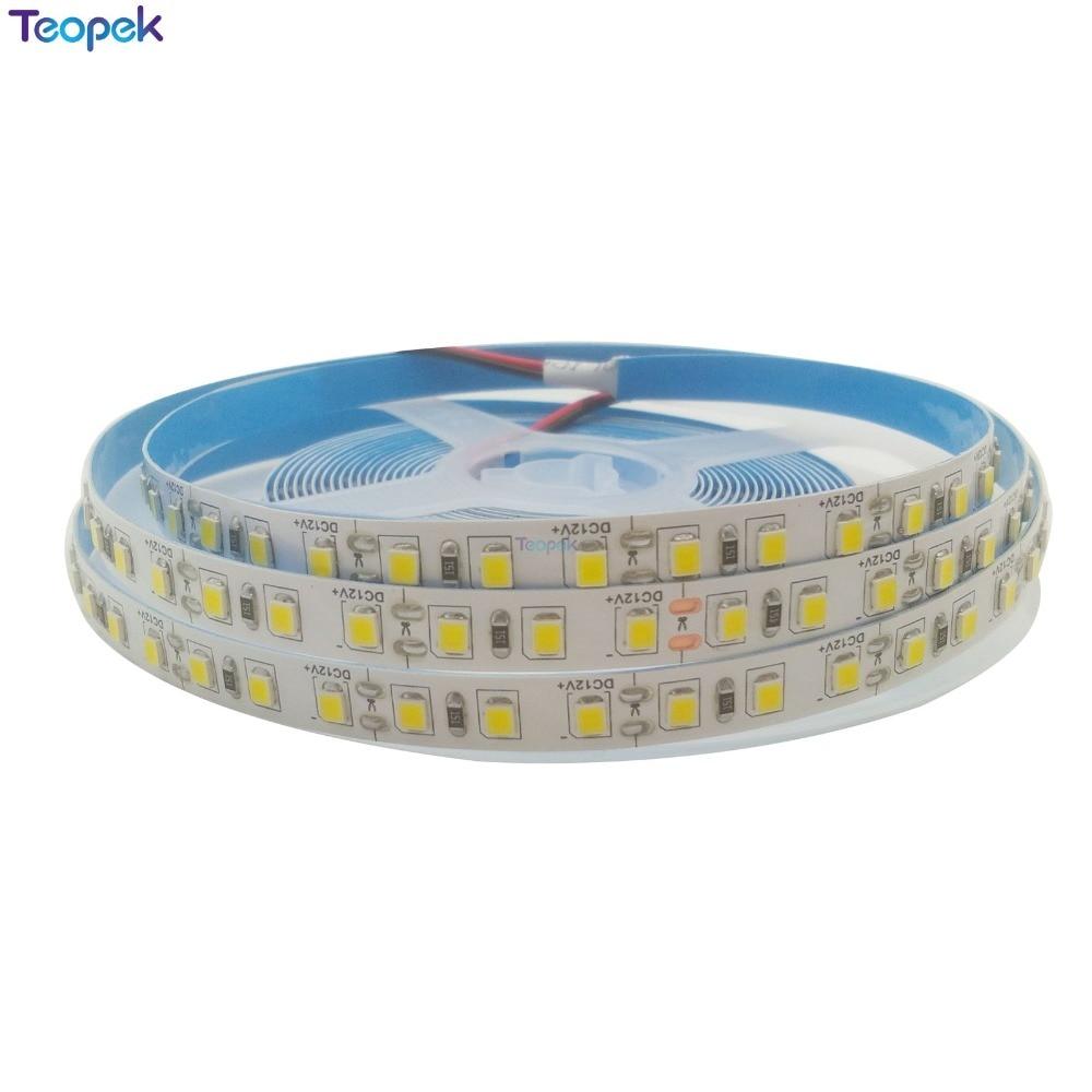 Super Bright 5M 600Leds 2835 SMD warm white 3000k Neutral white 4500k White 6500k Flexible LED Strip 12V 600x3528 smd led 6500k white light flexible strip 5 meter dc 12v