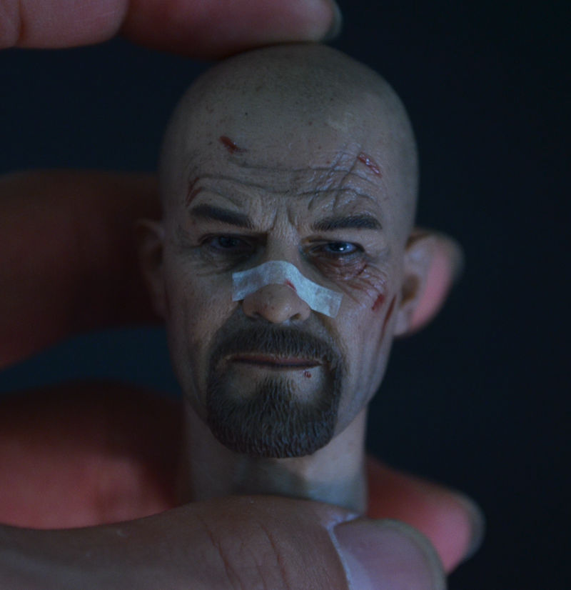 ФОТО 1/6 scale doll head for 12