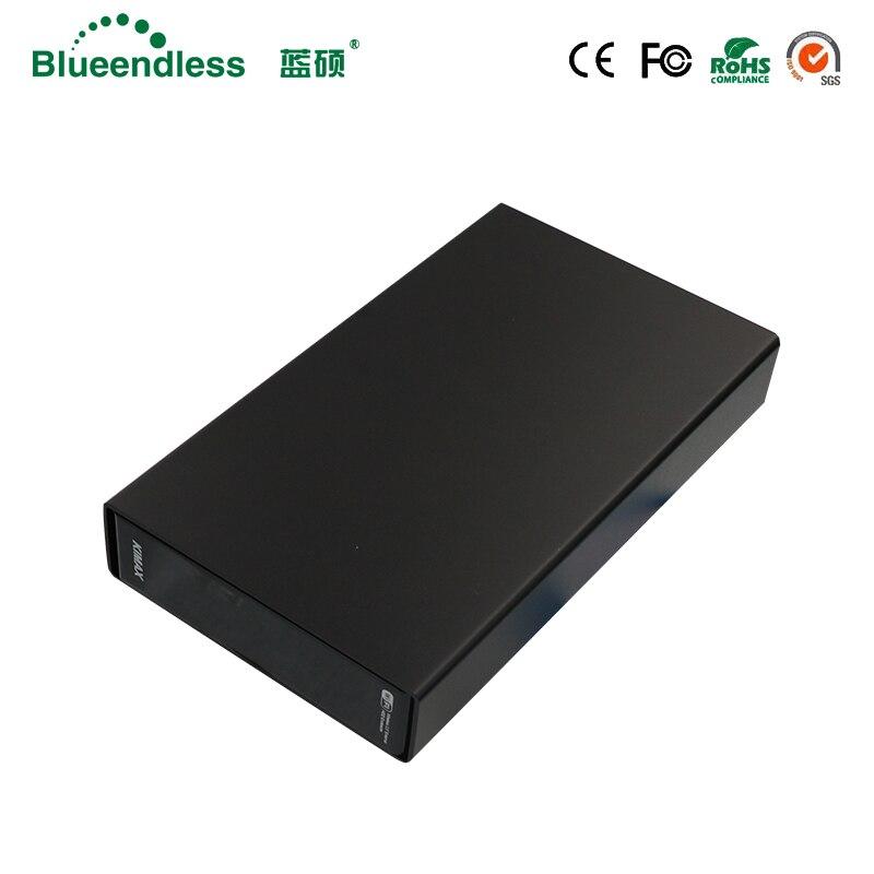 Blueendless Wifi Router Wifi compartir almacenamiento tornillos 3,5 SATA HDD/SSD recinto LAN compartir RJ45 Ethernet inalámbrico dispositivos