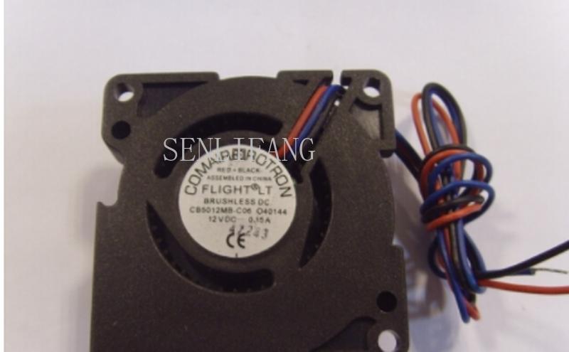 Free Shipping For Original COMAIR ROTRON CB5012MB-C06 5020 12V Blower Fan