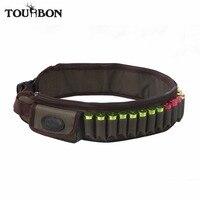 Tourbon Tactical Hunting Shotgun 12/16 Gauge Ammo Belt Shooting Cartridges Holder 24 Rounds Bandolier Nylon Gun Accessories