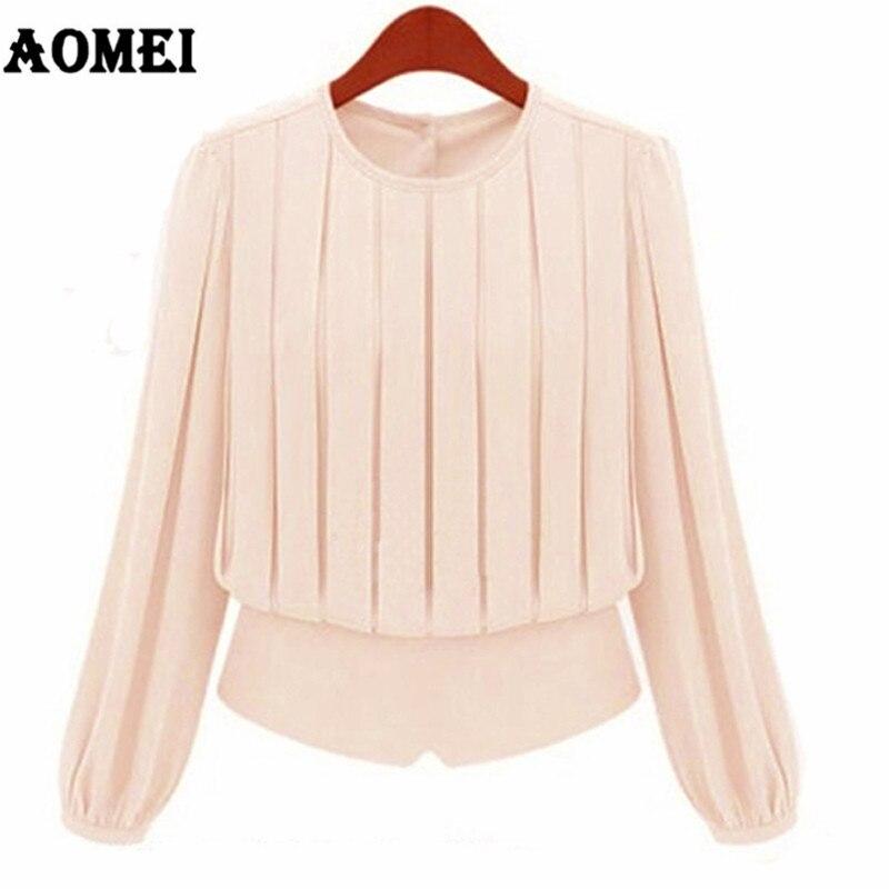 Women Summer Blouses Elegant Fashion Chiffon Tops Office Ladies Workwear Blusas Girls Sweet Shirts Casual Classy Modest Clothing