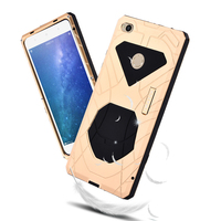 Original iMatch Shockproof Case For Xiaomi Mi Max 2 Luxury Metal Silicone Full Protection Hard Phone Case Cover Xiaomi Mi Max 2
