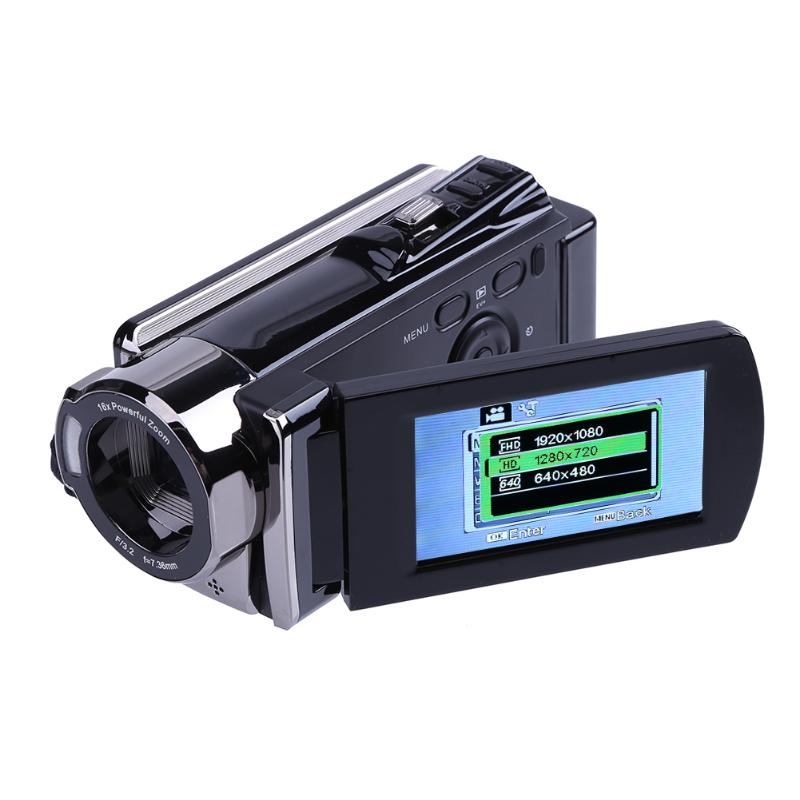 HD CMOS Sensor Digital Camers 16X Video Recorder Touch Screen Support IR Night Vision 48MP 2160P 4K DVR Video Camcorder Camera ...