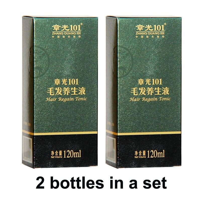 Mondialement célèbre ZhangGuang 101 cheveux retrouver tonique 2x120 ml médecine chinoise thérapie anti perte de cheveux traitement des cheveux repousse des cheveux