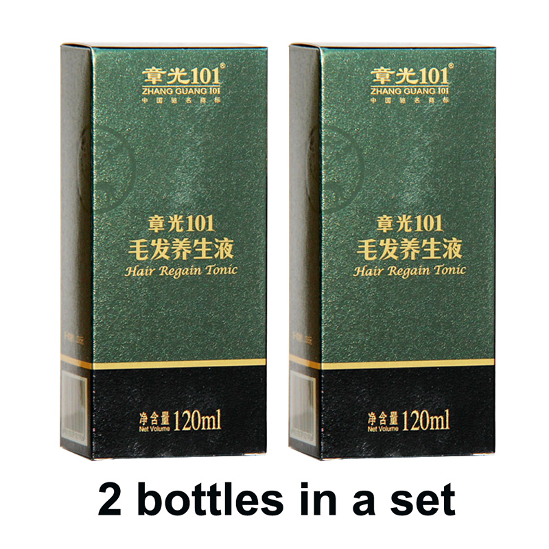 World famous ZhangGuang <font><b>101</b></font> <font><b>hair</b></font> regain tonic 2x120ml Chinese medicine therapy anti <font><b>hair</b></font> loss <font><b>hair</b></font> treatment <font><b>hair</b></font> regrowth image