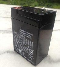 Comercio al por mayor de La Batería 6 V 4.5AH Pequeña De Almacenamiento de Baterías de Plomo Ácido Batería 6 V 4.5ah 4ah Batería de Coche Eléctrico de Los Niños 70X47X101mm