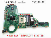 R63 713256-501 FOR HP 14-e 15-E series Laptop Motherboard DA0R63MB6F1 REV:F HM86 2G 713256-001 Mainboard Tested 90Days Warranty