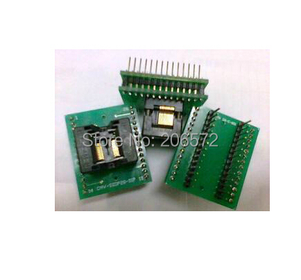 wide-body TSSOP20 to DIP20/TSSOP20 IC test block/adapter/test bench/Burn-in 100pcs lot stm8s003f3p6 st tssop20