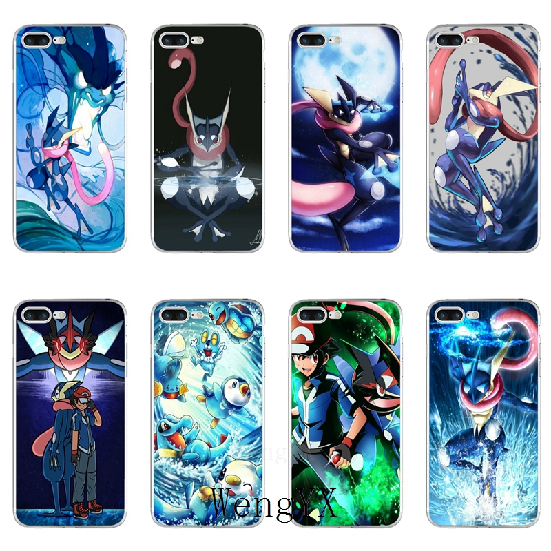 Generous Water Shuriken Greninja Slim Silicone Tpu Soft Phone Case For Xiaomi Mi 6 6x A1 5 5s 5x 4 4c 3 Mix Max 2 Note 2 Phone Bags & Cases