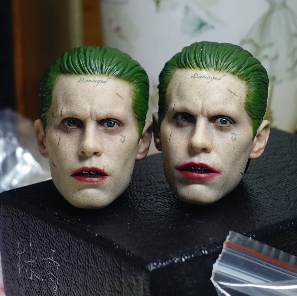 1/6 doll Accessory Jared Leto Suicide Squad headsculpt joker head shape for 12 Action figure,Not included body and clothes солженицын а и рассказы