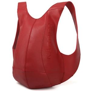 Image 4 - Tortoise Backpack Women Bags Travel Anti Theft Backpack Shoulder Bag Leather Motorcycle PU School Bagpack Men College Back Pack