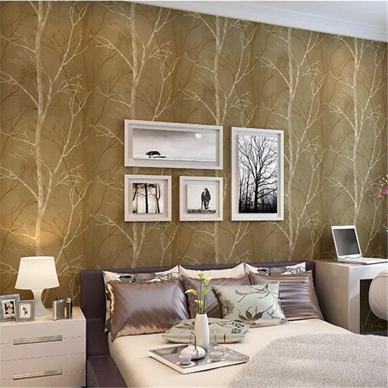 Beibehang design naturel arbre forêt texturé papier peint revêtement mural bois papier peint fond mur décor à la maison papel de parede