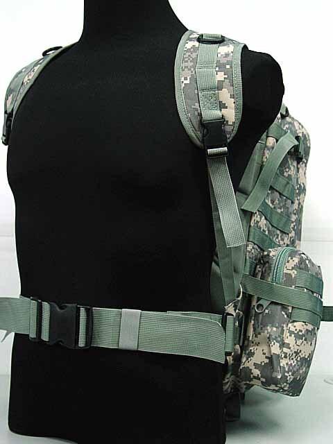 Sac de sport tactique US sac à dos d'assaut Molle sac à dos numérique ACU Camo
