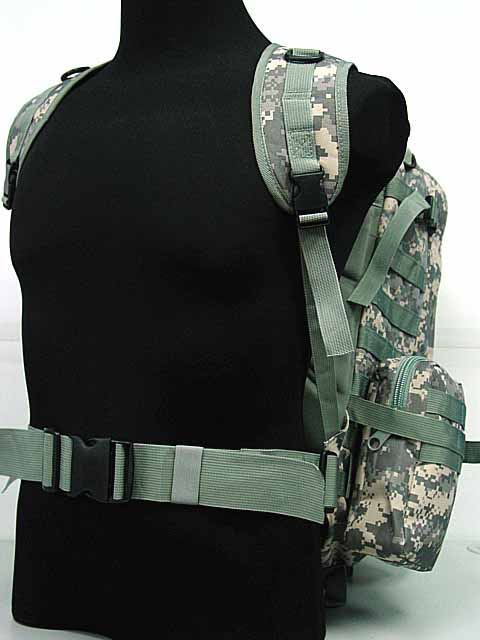 ФОТО US Tactical sports bag Molle Assault Backpack Bag Digital ACU Camo