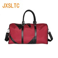 Jxsltc New Men Oxford Cloth Travel Bag Handbag Lady Bag Multi function Large Portable Business Shoulder Bag Yoga Weekend Bag F85