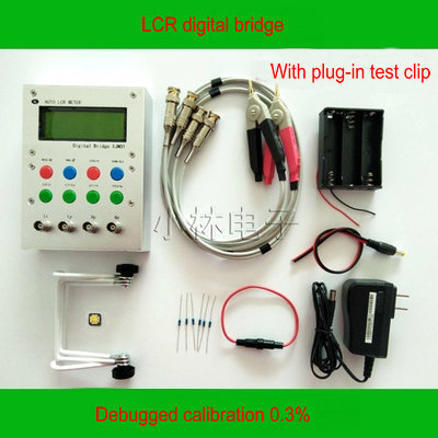 XJW01 LCR Digital Bridge Tester  ESR Kit