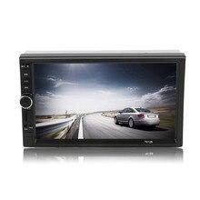 Автомобиль Стайлинг автомобиля FM/MP5 Радио плеер Черный Белый 7 дюймов Большой HD Сенсорный экран Bluetooth универсальный автоматический заднего вида камера Вход