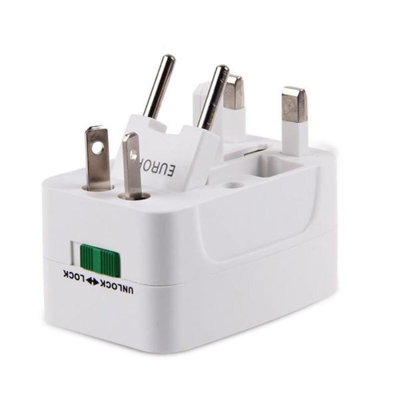 Universal Mondial Chargeur Plug Tout-en-un Voyage AC Power Adapter converter US/UK/AU /UE ÉTATS-UNIS À L'UE USA Pour L'euro Voyage Prise Murale