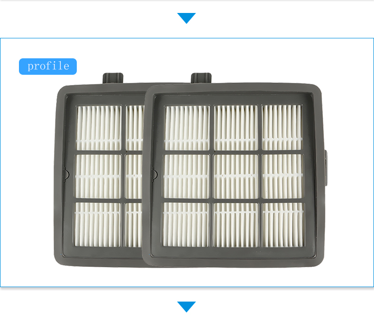 120*121*35 Размеры серый hepa фильтр пылесоса аксессуары и части пылесос T55 T53 t51