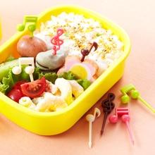 Musical Note Shape Food Fruit Picks