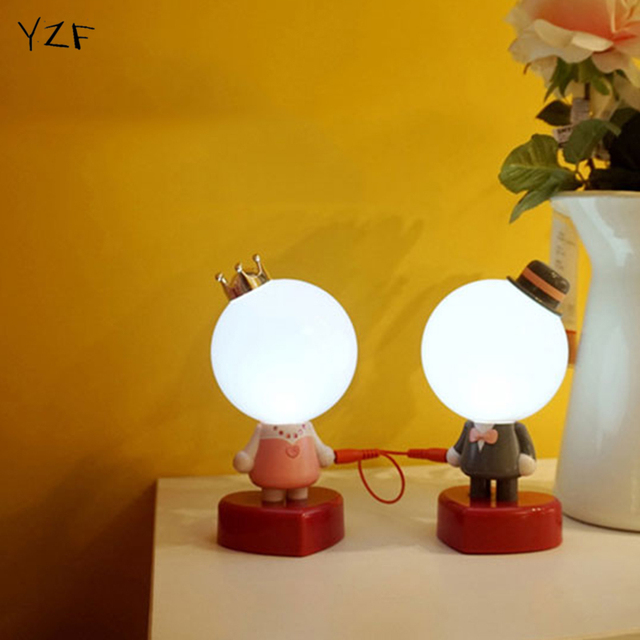 Us 31 95 Valentine S Day Sweetheart Bedroom Night Lamp Creative Gift Girlfriend Couples Romantic Led Light Novelty Led Night Light In Night Lights