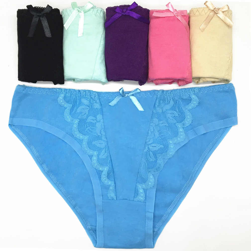 ece8ec64308 Underwear Sexy Panties Women Cotton Women s Briefs Low Waist Hipster Sexy  Lace Lingerie Knickers For Women