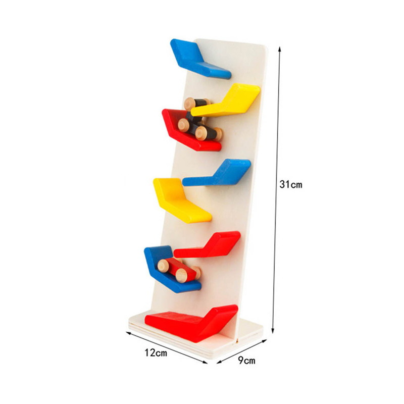1 Piece Simulation Speed Stairs Track Educational Toys Mini Car model toy kids Vehicles Fun Learning Educational Props