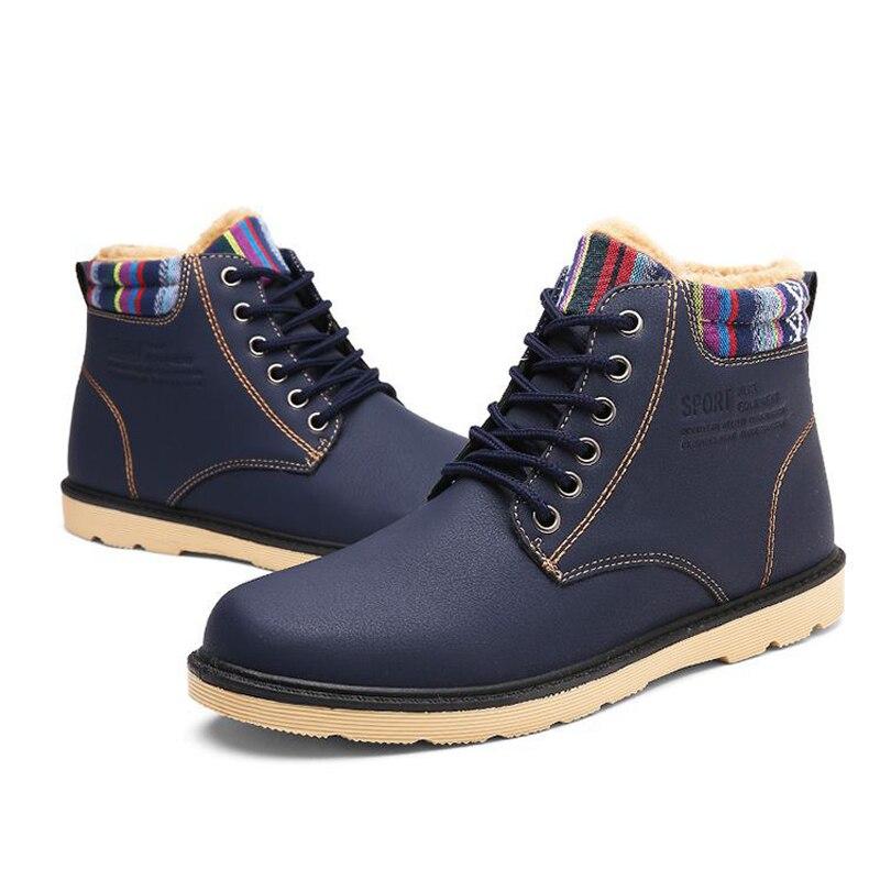 Zapatos Los Aire Nieve Al Invierno Hombres Martin 3 Goma Retro Cuero Para Super De Impermeable 1 Botas Inglaterra Libre Caliente 2 qwt4aa