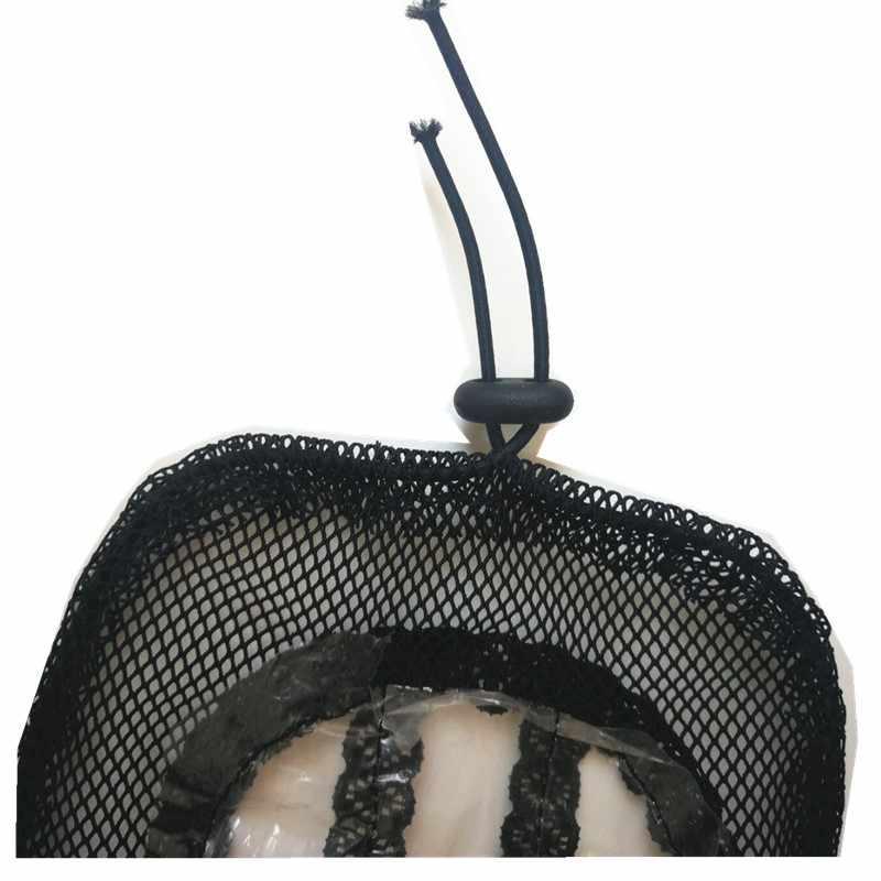 Royalty Haar 5 stks/partij Zwarte Kleur Hoge Kwaliteit Haar Net Voor Maken Paardenstaart En Afro Haar Broodje Pruik Caps Haarnetjes groothandel Prijs