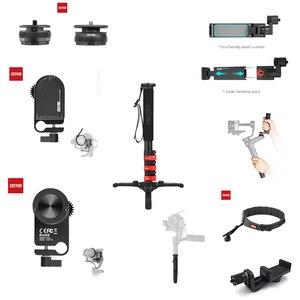 Image 1 - Аксессуары для лаборатории Zhiyun Weebill, карданный держатель для телефона, быстрая установка, сервопривод, фокус, монопод, сумка