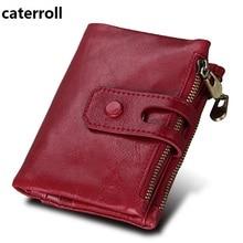 Купить с кэшбэком short women wallets genuine leather mini wallet ladies wallets and purses luxury brand real leather coin purse