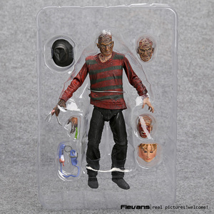 """Image 2 - NECA A Nightmare on Elm Street Freddy Krueger 30th PVC Action Figure Collectible Toy 7"""" 18cm"""