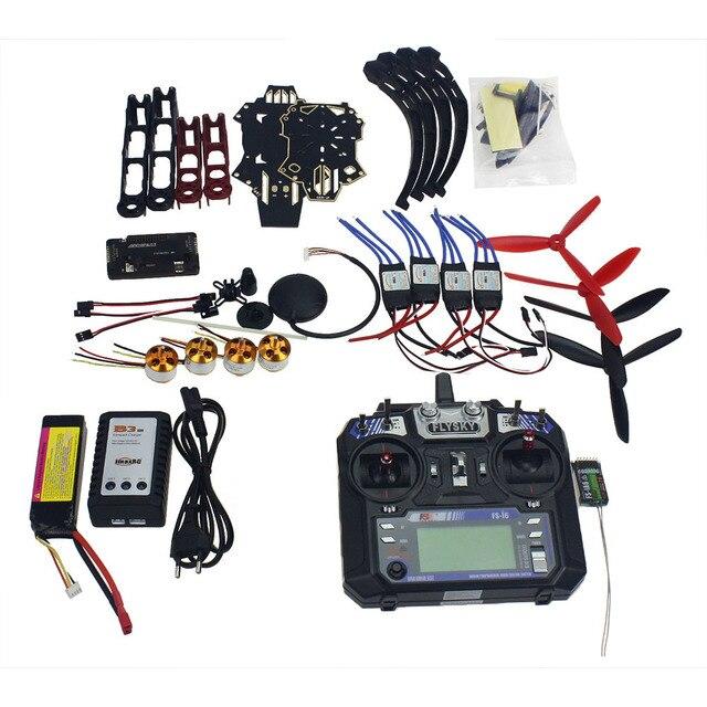 Полный набор Радиоуправляемый Дрон Квадрокоптер самолетов комплект Q330 через Рамки 6 м GPS APM 2.8 полет Управление FS-i6 6CH передатчик F11797-F