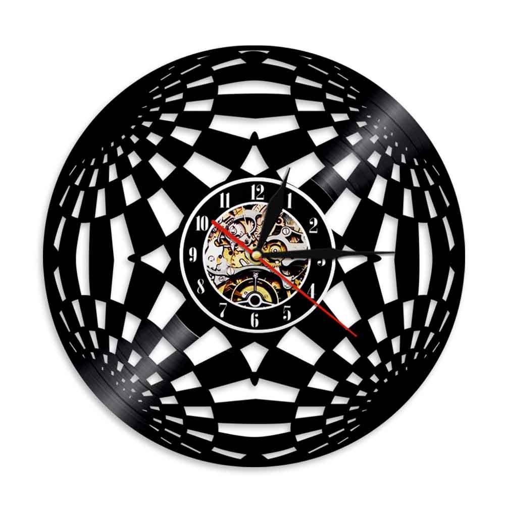 1Piece Longplay Record Wall Clock Circle Vinyl Wall Clock Personalized 12