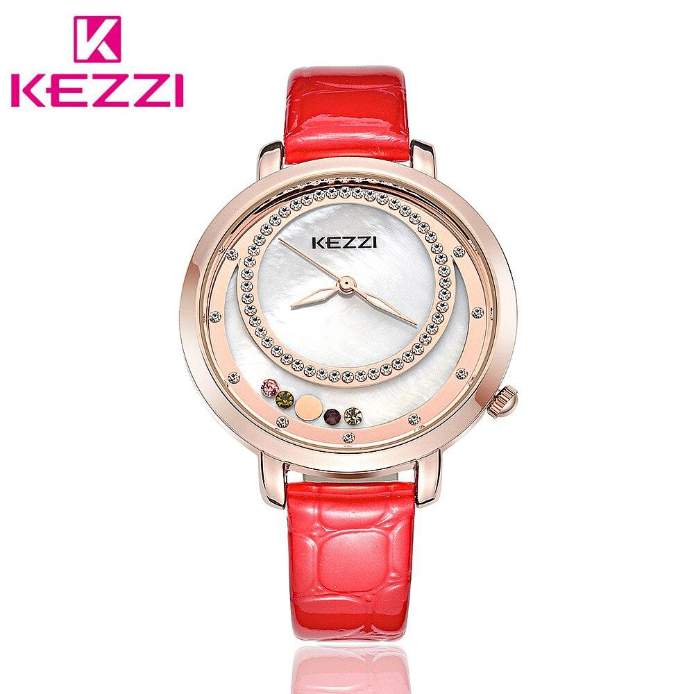 все цены на  KEZZI K-1418 Brand Fashion Women Rhinestone Wristwatch Ladies Luxury Brand Quartz Watch Relogio Feminino Gift KZ39  онлайн