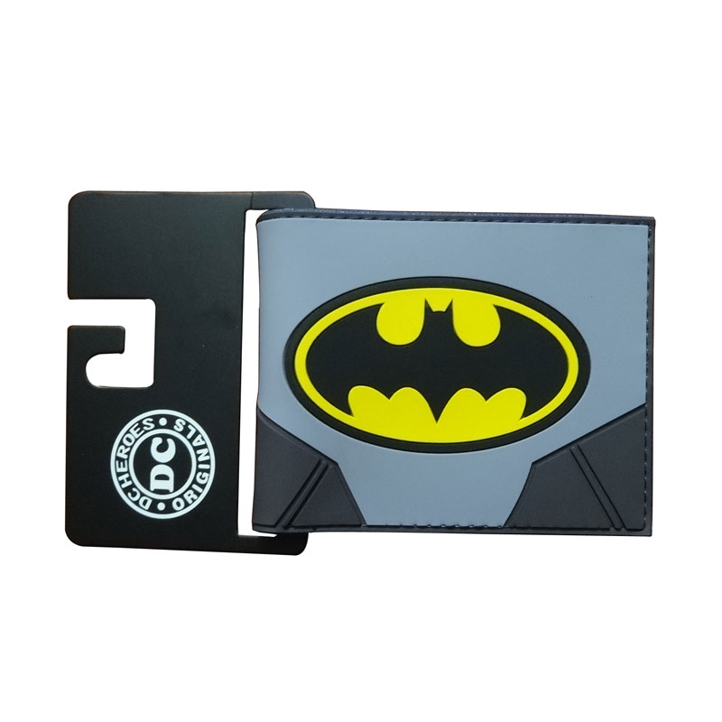 New Arrival Batman Wallets carteira masculina DC Comics Anime Purse Hero Captain America Superman Card Holder Bags PVC Wallet comics dc marvel wallets green arrow leather purse women money bags gift wallet carteira feminina bolsos mujer de marca famosa