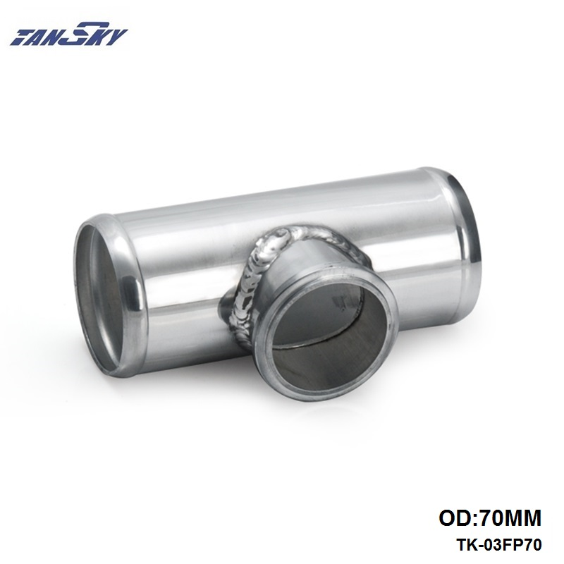 Universal 70mm 2.75 Aluminum Flange Pipe Fit For 50mm Tail Blow Off Valve For GM 6.6L LB7 Duramax Diesel 2002 TK-03FP70 brand new high quality bov turbo blow off valve for hks sqv4 ssqv4 better performance than sqv3 fast delivery
