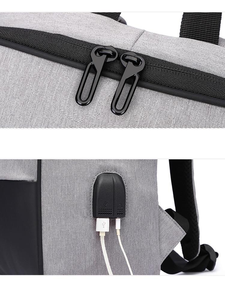 Sac à Dos  Grande Capacité 15.6 Pouce Double USB
