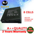 Wholesale 8 cells Laptop battery  A42-G74  ICR18650-26F  LC42SD128 replacement for  ASUS G74 G74J G74JH G74S G74SW G74SX Series