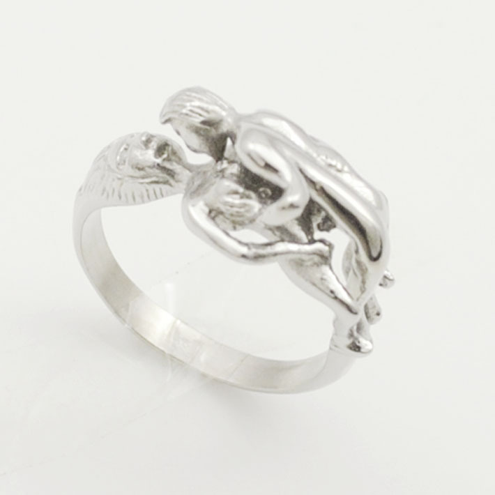 GOKADIMA Figure ring men women polished stainless steel #8/9/10/11/12/13 Jewelry bijioux WR131